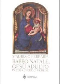 Babbo Natale, Gesù Adulto cover