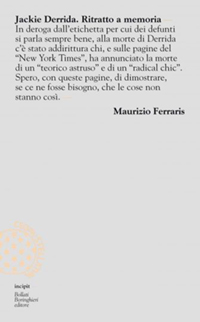 Jackie Derrida cover