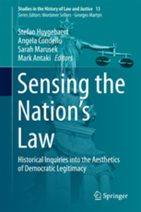 Sensing the Nation's Law cover