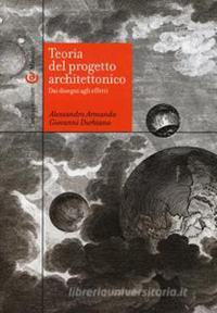 Teoria del progetto architettonico cover