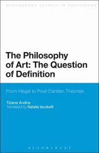 The Philosophy of Art: The Question of Definition cover