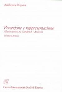 Percezione e rappresentazione cover