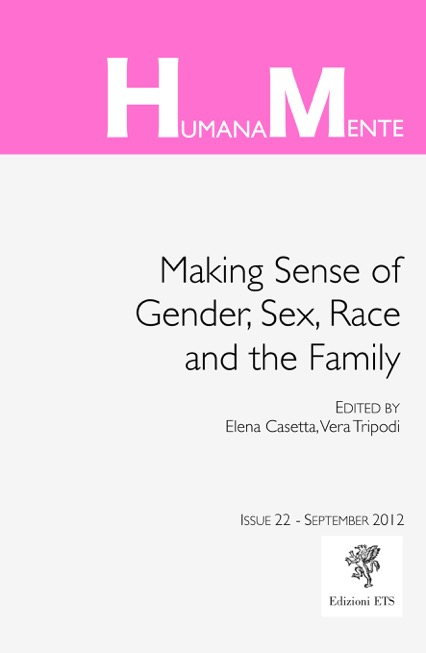 Making Sense of Gender, Sex, Race and the Family cover