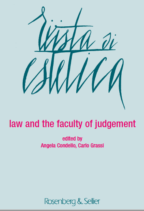 law and the faculty of judgement cover