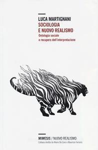 Sociologia e nuovo realismo cover