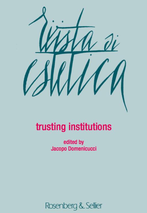 trusting institutions -