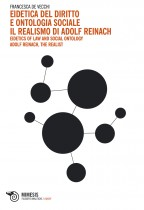 Eidetica del diritto e ontologia sociale. Il realismo di Adolf Reinach cover