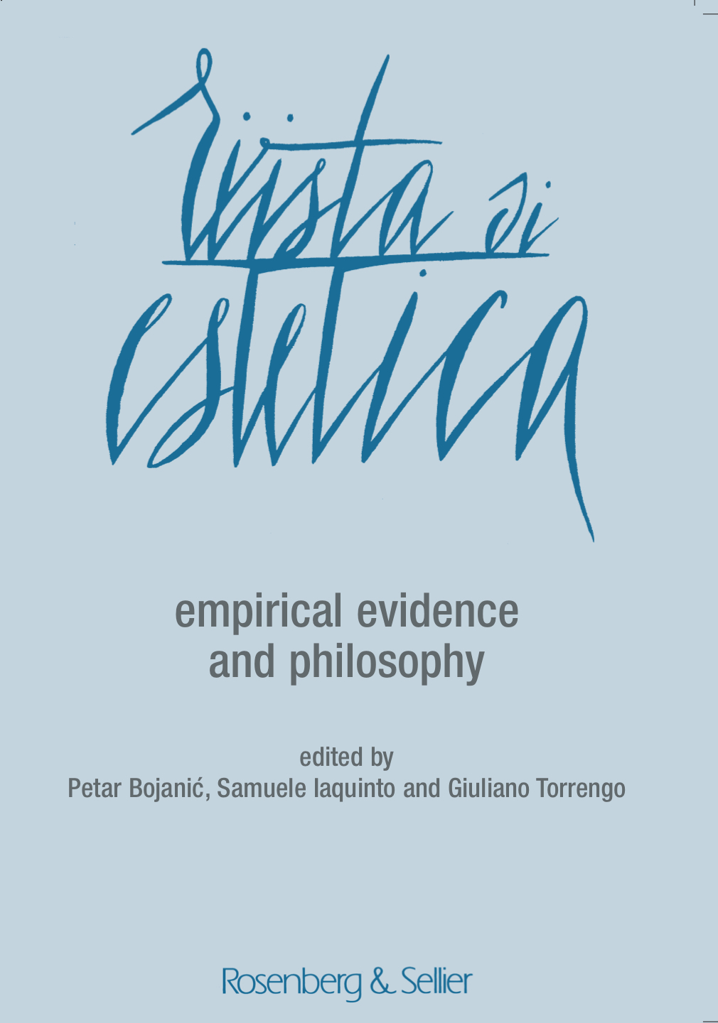 empirical evidence and philosophy cover