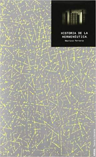 Historia de la Hermeneutica cover