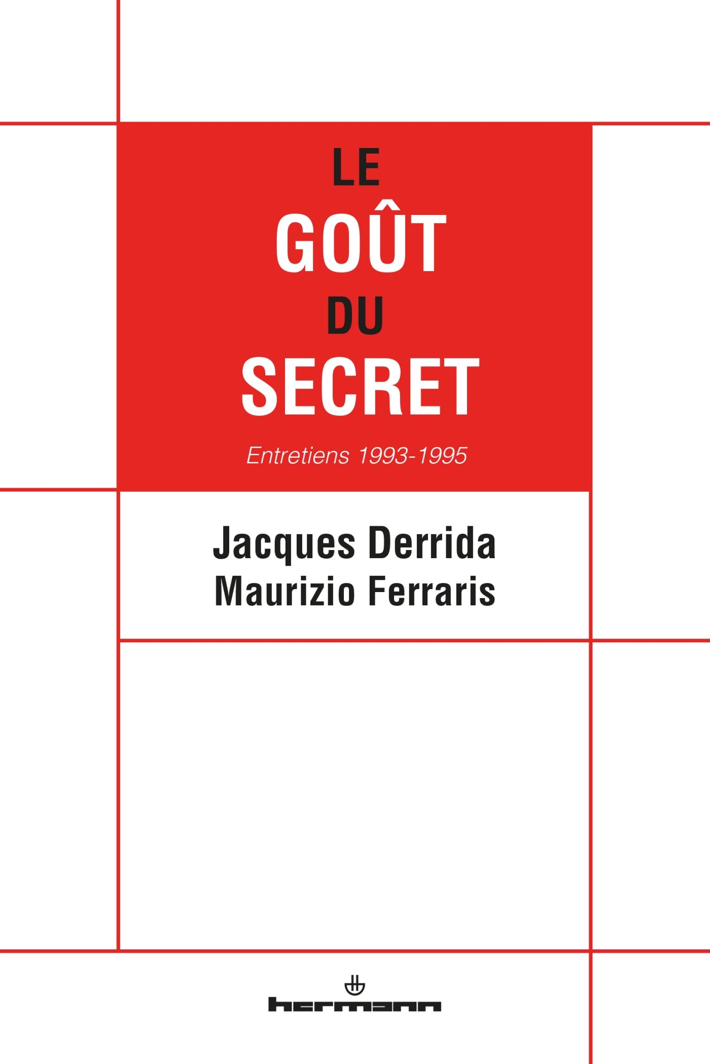 Le goût du secret cover