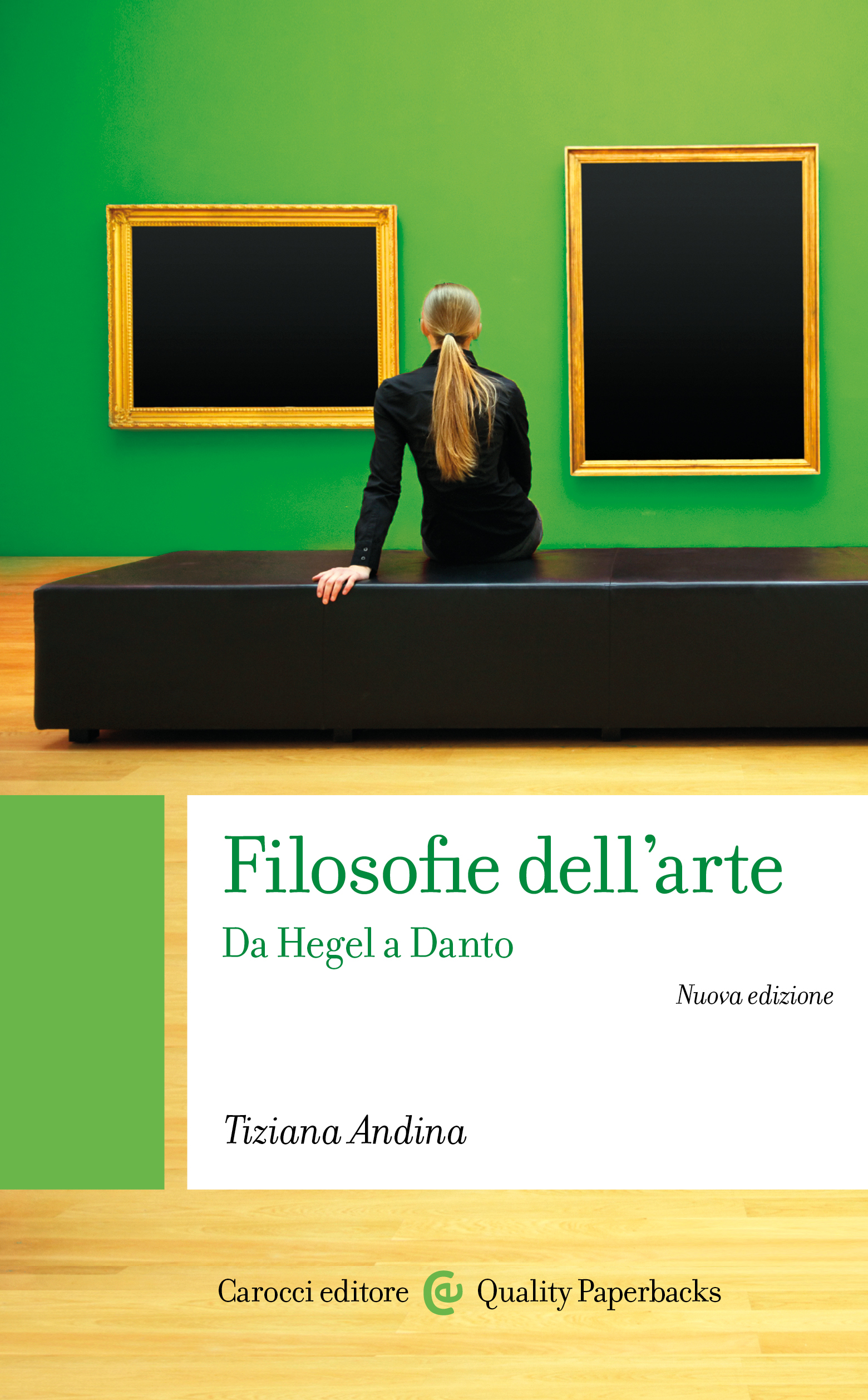 Filosofie dell'arte cover