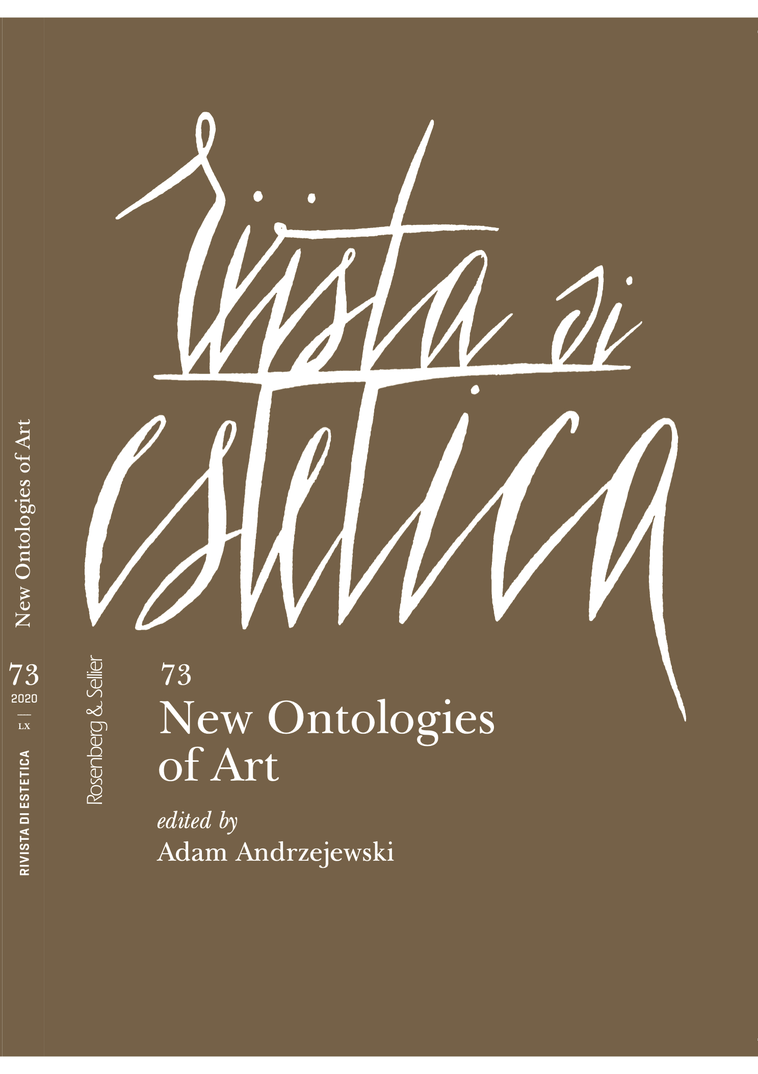 New Ontologies of Art cover