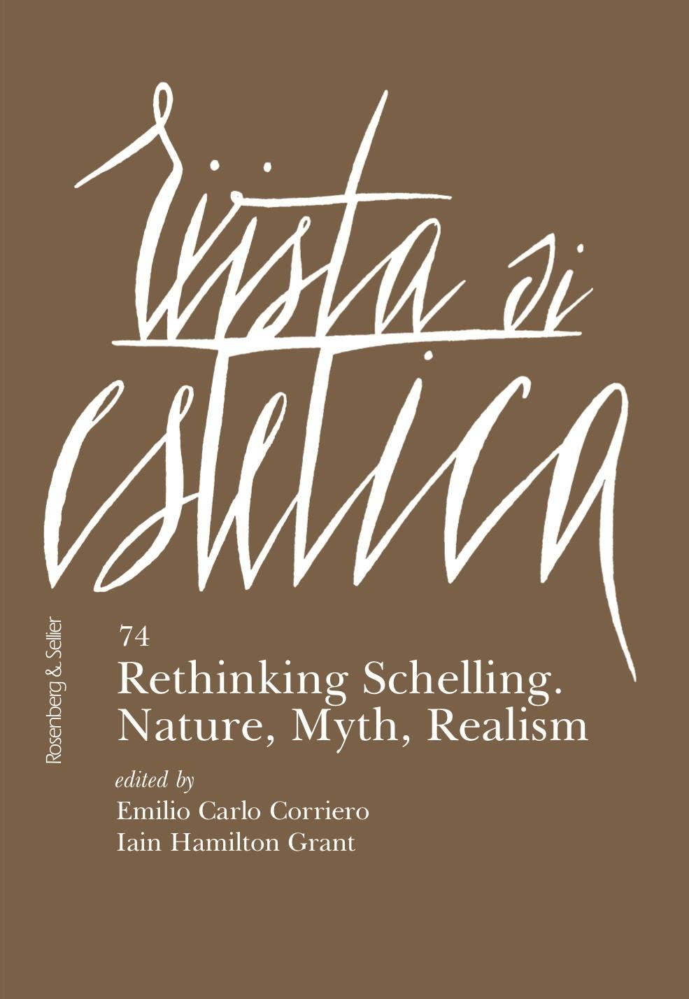 Rethinking Schelling. Nature, Myth, Realism -